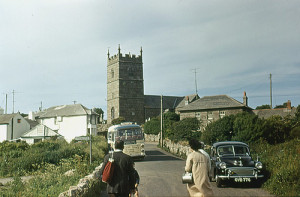 1962 approx Zennor, Cornwall, England