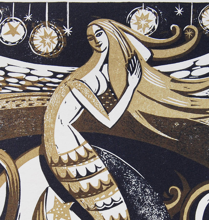 original_zennor-mermaid-relief-letterpress-print