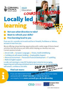 Locally led learning poster